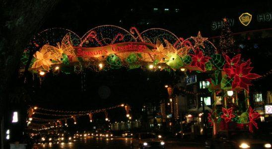 Orchard Road Christmas 2004, CC BY-SA 2.0