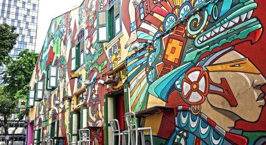 Graffiti Street Art Singapore Haji Lane
