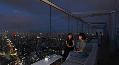 Shibuya Sky opens a rooftop bar for a limited time – Views, drinks, and excitement