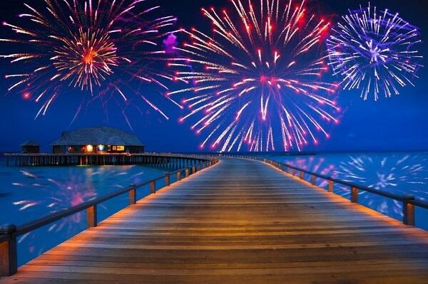 Maldives New Year Celebration
