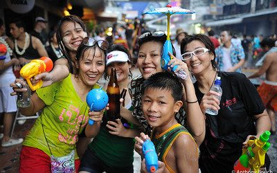 Songkran Bangkok Festival 2021 – Celebrated with Restrictions in Place
