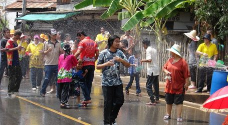 Songkran Activities Held Once More in Thailand – Festivities Restricted This Year