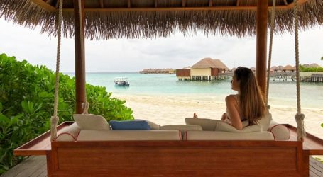 The Maldives secures itself as a tourist haven with the increasing tourist visits lately – receiving love from around the world